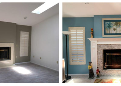 fireplace_splitface silver travertine and the hearth_Punta Gorda_Southwest Restoration